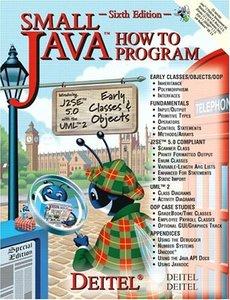 Small Java How to Program, 6/e (美國版0131486608)-cover