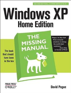 Windows XP Home Edition : The Missing Manual, 2/e-cover