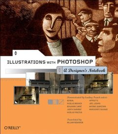 Illustrations with Photoshop : A Designer's Notebook-cover