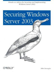 Securing Windows Server 2003-cover
