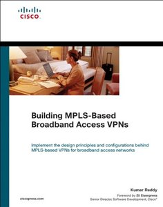 Building MPLS-Based Broadband Access VPNs (Hardcover)-cover