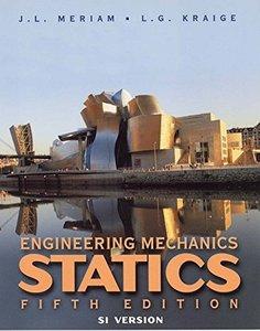 Engineering Mechanics Statics, 5/e (Si Version)-cover