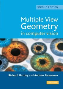 Multiple View Geometry in Computer Vision, 2/e (美國原版)-cover