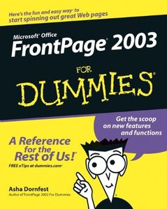Front Page 2003 for Dummies, 2/e-cover