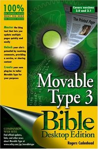 Movable Type 3.0 Bible Desktop Edition-cover