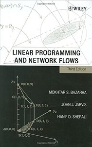 Linear Programming and Network Flows, 3/e-cover