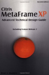 Citrix MetaFrame XP: Advanced Technical Design Guide, 2/e-cover