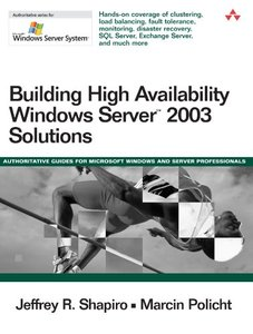 Building High Availability Windows Server 2003 Solutions-cover