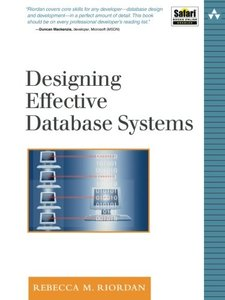 Designing Effective Database Systems (Paperback)-cover