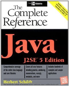 Java: The Complete Reference, J2SE 5 Edition (Paperback)-cover