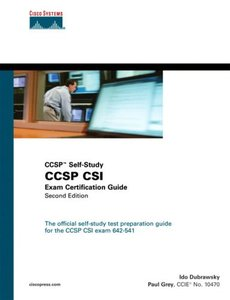 CCSP CSI Exam Certification Guide, 2/e (Hardcover)-cover
