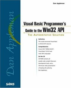 Dan Appleman's Visual Basic Programmer's Guide to the Win32 API-cover