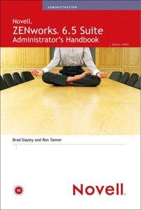 ZENworks 6.5 Suite Administrator's Handbook-cover