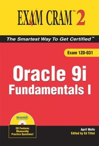 Oracle 9i Fundamentals I Exam Cram 2-cover