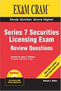 Series 7 Securities Licensing Review Questions Exam Cram-cover
