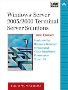 Windows Server 2003/2000 Thin Client Solutions, 3/e-cover