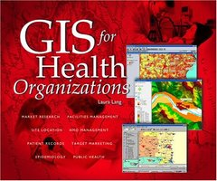 GIS for Health Organizations (Hardcover)-cover