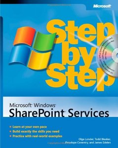 Microsoft Windows SharePoint Services Step by Step-cover