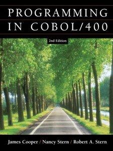 Programming In COBOL / 400, 2/e