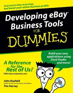 Developing eBay Business Tools For Dummies-cover