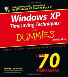 Windows XP Timesaving Techniques small TM/small For Dummies, 2/e-cover