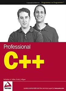 Professional C++ (Paperback)-cover