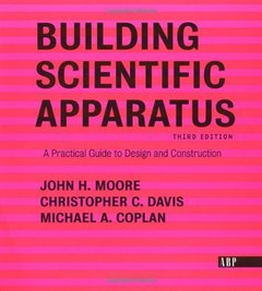 Building Scientific Apparatus, 3/e-cover