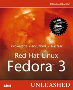 Red Hat Linux Fedora 3 Unleashed-cover