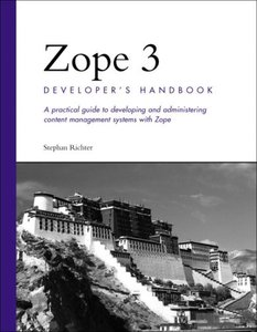 Zope 3 Developer's Handbook-cover