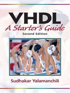 VHDL: A Starter's Guide, 2/e-cover