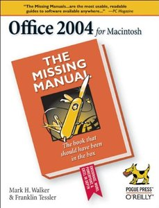 Office 2004 for Mac: The Missing Manual-cover