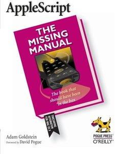 AppleScript: The Missing Manual-cover