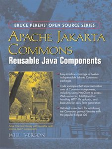 Apache Jakarta Commons: Reusable Java Components-cover