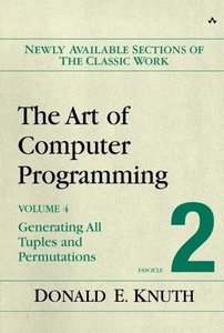 The Art of Computer Programming, Volume 4, Fascicle 2: Generating All Tuples and Permutations-cover