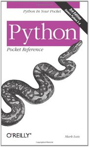 Python Pocket Reference, 3/e (Paperback)-cover