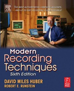 Modern Recording Techniques, 6/e (Paperback)-cover