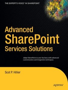 Advanced Sharepoint Services Solutions: Advanced Sharepoint Services Solutions (Paperback)-cover