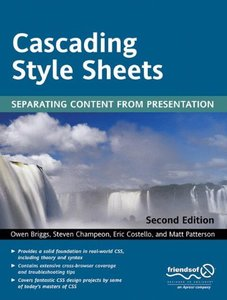 Cascading Style Sheets: Separating Content from Presentation, 2/e-cover