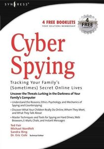 Cyber Spying: Tracking Your Family's (sometimes) Secret Online Lives-cover