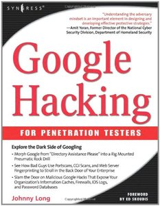 Google Hacking for Penetration Testers, Volume 1-cover