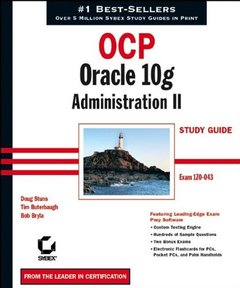 OCP: Oracle 10g Administration II Study Guide (Paperback)-cover