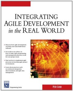 Integrating Agile Development in the Real World-cover