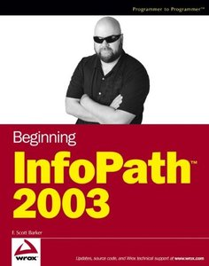 Beginning InfoPath small TM/small 2003-cover