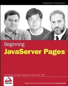 Beginning JavaServer Pages (Paperback)-cover