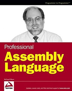 Professional Assembly Language (Paperback)-cover