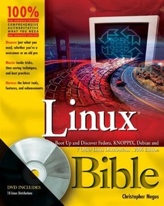 Linux Bible, 2005 Edition-cover
