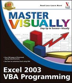 Master Visually Excel 2003 VBA Programming-cover