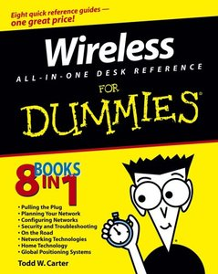 Wireless All-In-One Desk Reference For Dummies-cover