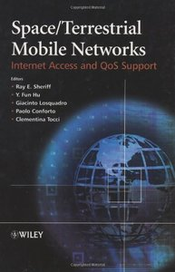 Space/Terrestrial Mobile Networks: Internet Access and QoS Support