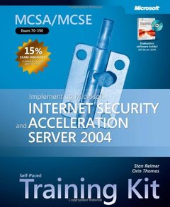 MCSA/MCSE Self-Paced Training Kit (Exam 70-350): Implementing Microsoft Internet Security and Acceleration Server 2004-cover